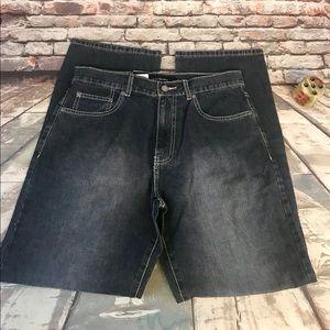 Calvin Klein NWT Straight Leg Dark Wash Jeans